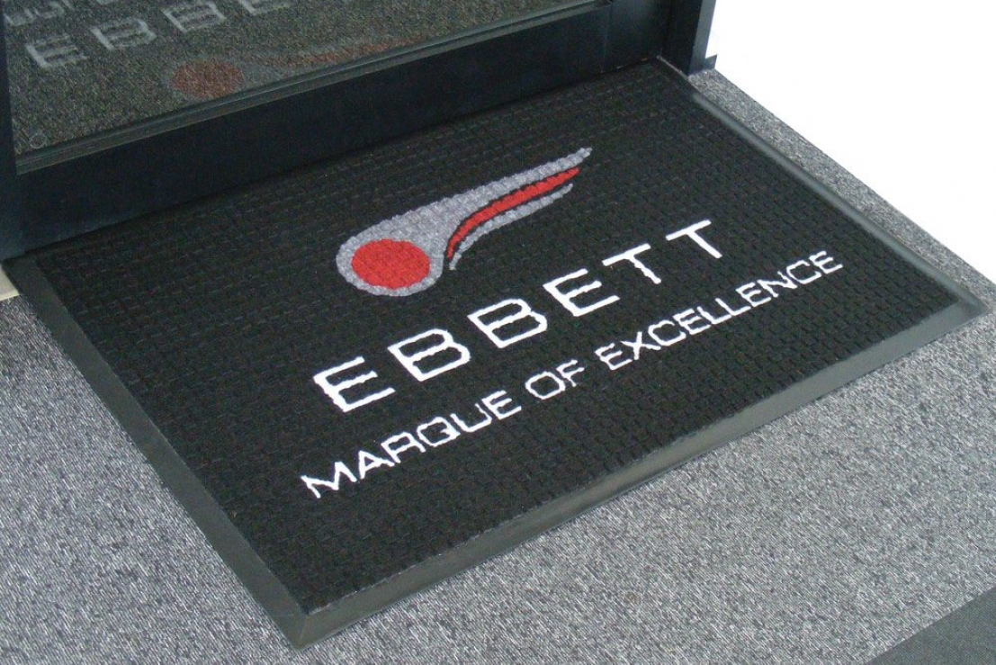 Cubic Inlayed Logo Mat